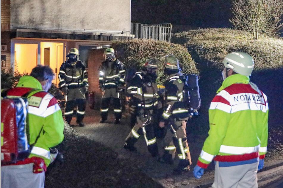 Rentnerin bei Feuer schwer verletzt: Nachbarin rettete ihr das Leben
