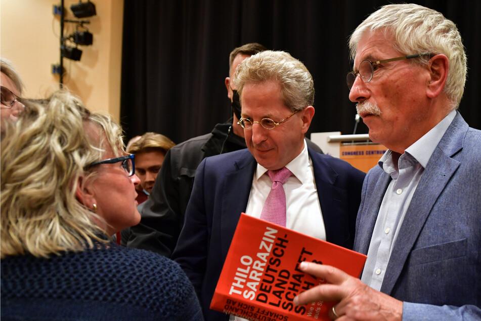"""""""Klimafanatiker"""": Hans-Georg Maaßen und Thilo Sarrazin machen gemeinsam Wahlkampf"""