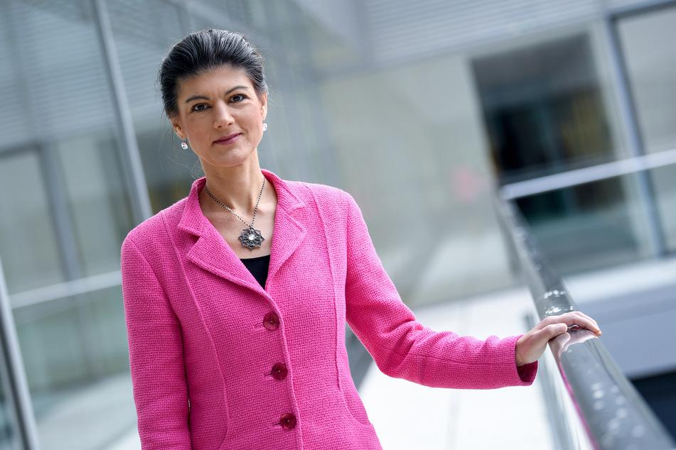Sara Wagenknecht ist Politikerin und Bundestagsabgeordnete der Partei Die Linke. (Foto: Britta Pedersen/dpa-Zentralbild/dpa)