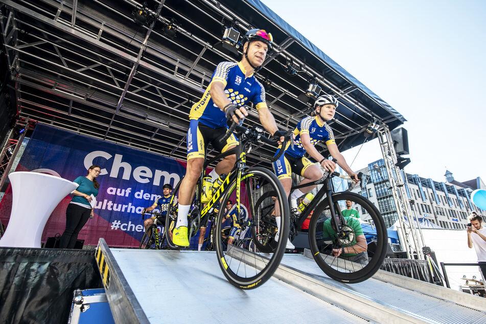 Chemnitzer fahren aus diesem Grund mit dem Fahrrad bis nach Berlin!
