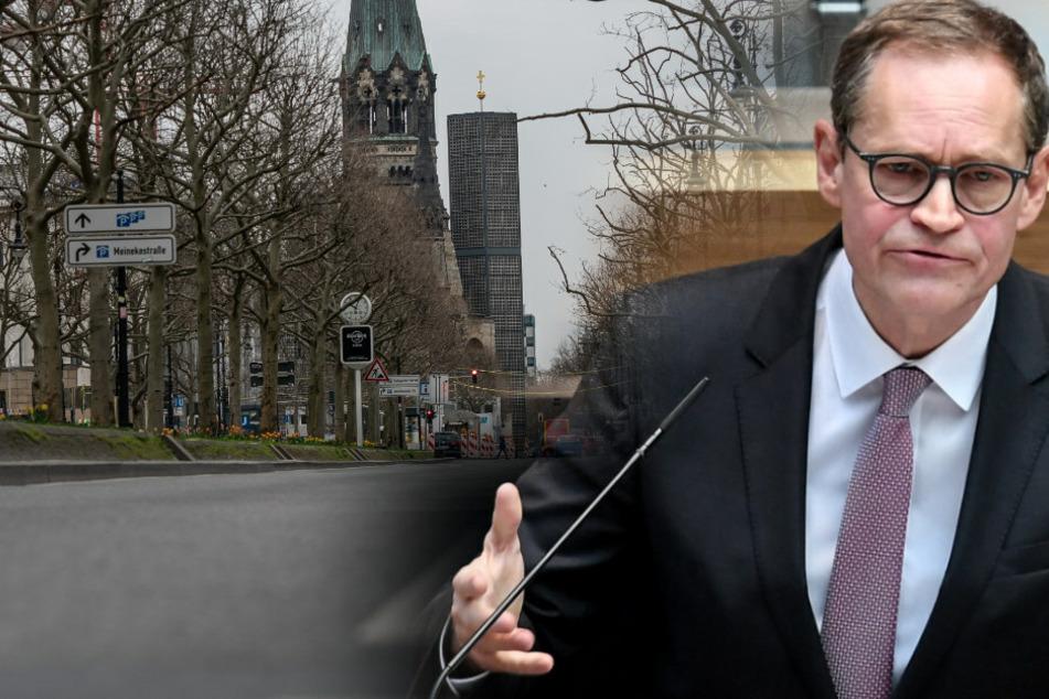Berlin verlängert Kontaktverbot: Müller kündigt Bußgeldkatalog an