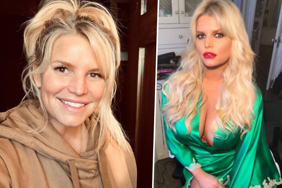 Jessica Simpson (40) can't wait for the world to read her essay Take The Lead (collage).