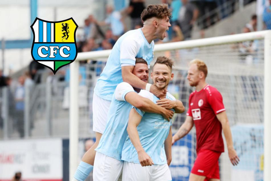 Doppelpack Freiberger, Traumtor Bickel: 3. Sieg für den CFC