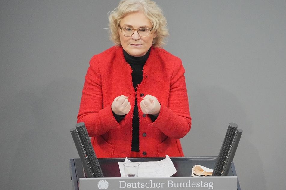 Christine Lambrecht (55, SPD), Bundesministerin der Justiz und für Verbraucherschutz.