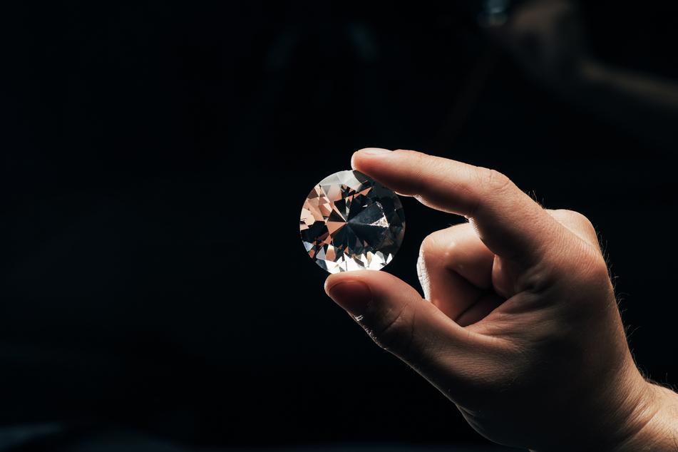 The Maiko Star is a 102-carat white diamond (stock image).