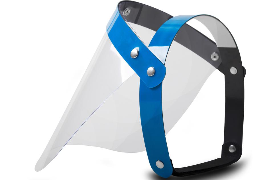 Das Robert-Koch-Institut rät von Visieren als Masken-Alternative ab.