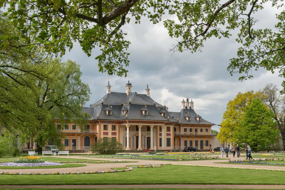 Schloss Pillnitz.