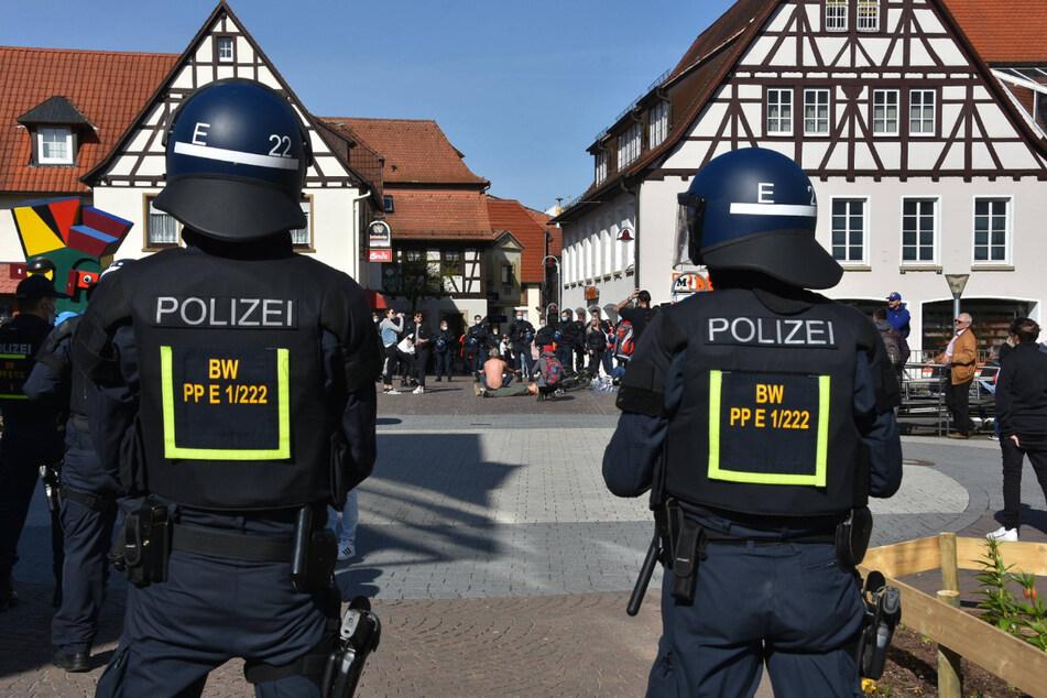 Die Polizei war stets präsent, kontrollierte mehr als 1500 Personen und 460 Fahrzeuge.