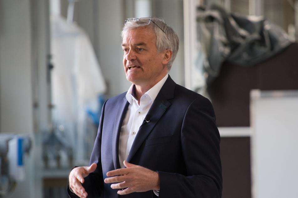 Professor Jürgen Stamm (57) von der TU Dresden freut sich über den Zuschlag für das Globale Zentrum.