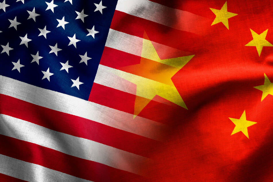 China has imposed new sanctions on seven US officials and organizations (stock image).