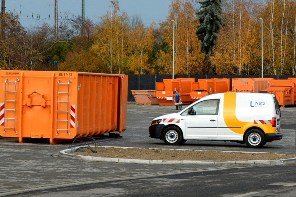 Wilde Müllkippen waren gestern: Leipzig hat einen neuen Wertstoffhof im Osten