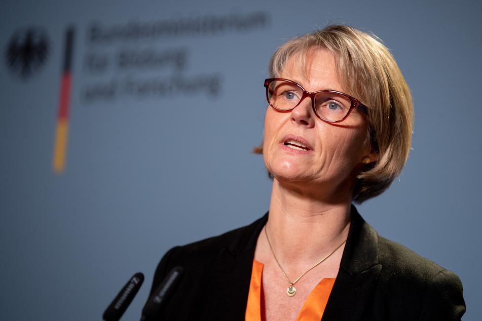 Anja Karliczek (49, CDU), Bundesministerin für Bildung und Forschung.