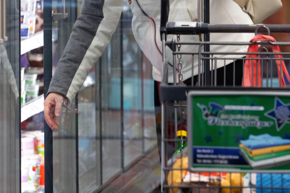 Die Familie wurde im Supermarkt festgenommen (Symbolfoto).