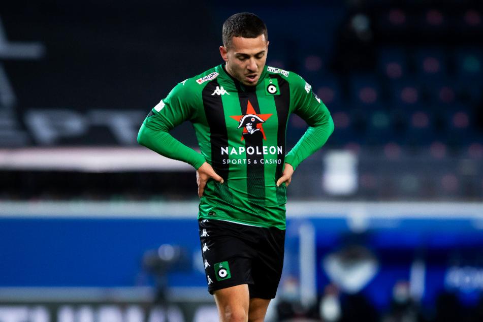 Kylian Hazard (25) wurde von Cercle Brügge aussortiert.