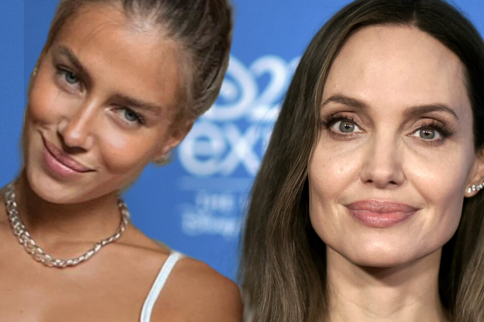 Botschaft auf Instagram: Das denkt Brad Pitts Neue über Angelina Jolie