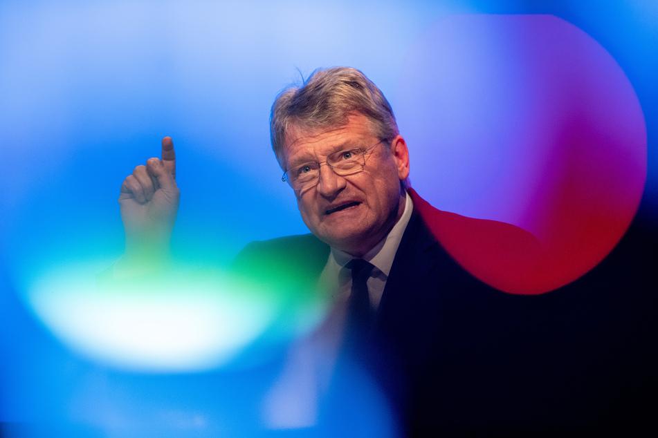 Jörg Meuthen, AfD-Vorsitzender, spricht beim Auftakt zum Europawahlkampf der AfD. (Archivbild)
