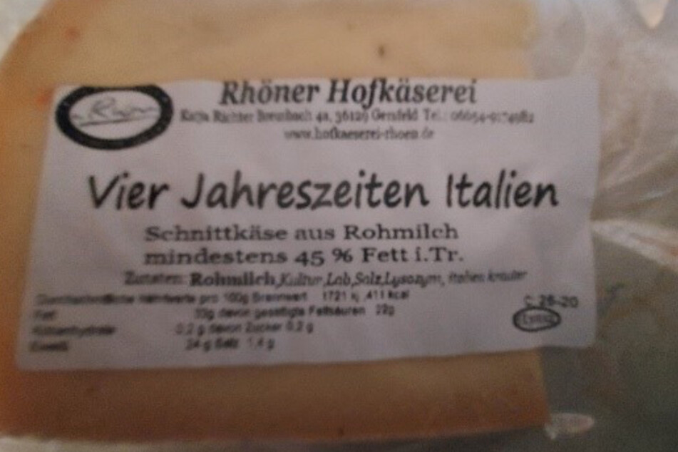 Achtung Salmonellen! Käserei ruft Schnittkäse zurück
