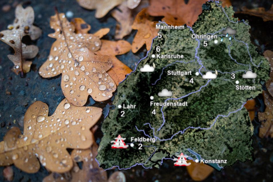 Pfui-Wetter zum Wochenstart, aber im Süden habt Ihr Glück