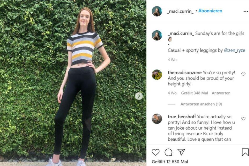 Maci Currin (17) on her Instagram profile.