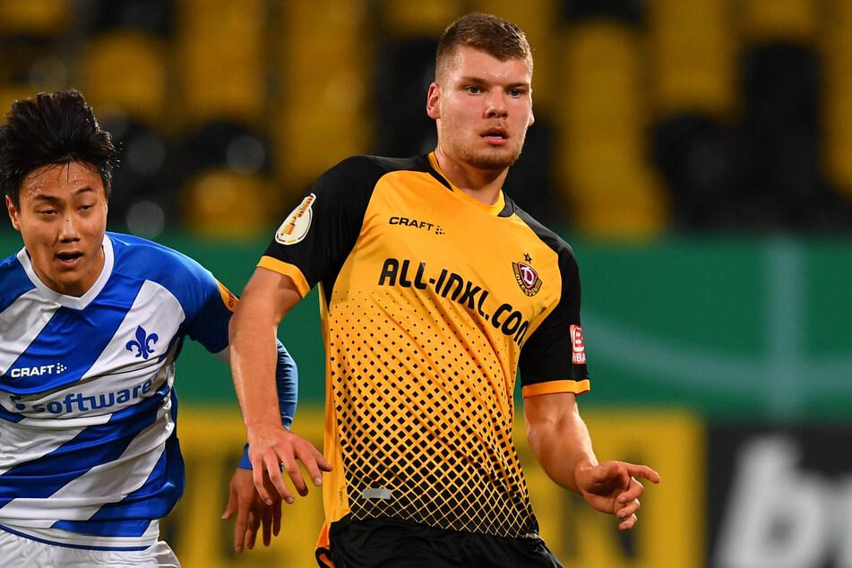 Kevin Ehlers (20, r.) hat seine Sperre abgesessen und seine Rückenprobleme überwunden. Er könnte gegen Lübeck spielen.