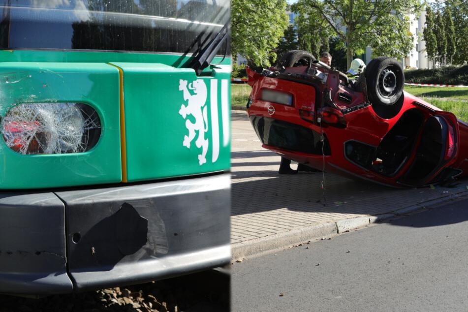Straßenbahn-Linie 4 kollidiert mit Opel-Fahrerin: Mehrere Kinder verletzt!