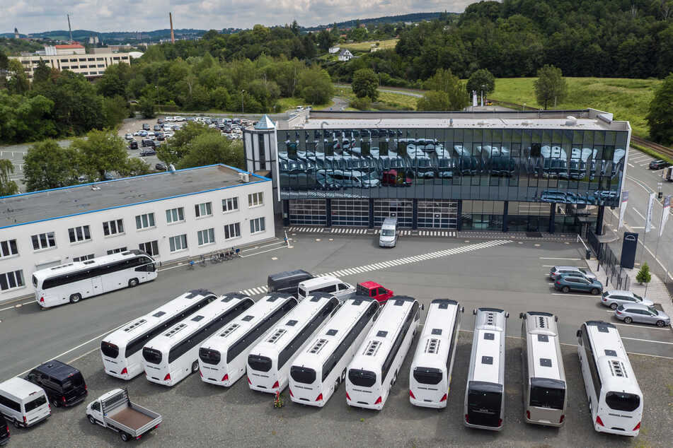 Protest bei MAN in Plauen: Regierung will für Standort kämpfen