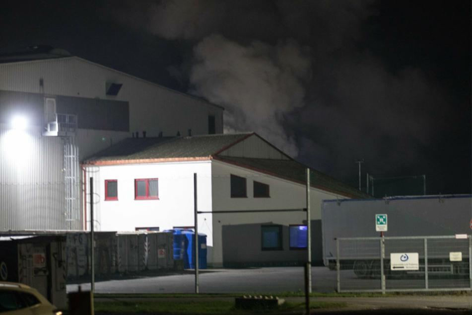 Montagabend kam es zu einem Brand auf dem Recyclinghof im Brand-Erbisdorfer Ortsteil Langenau.