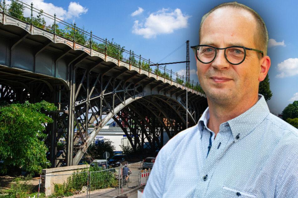 Höchste Denkmalschutz-Auszeichnung: Sachsen ehrt Chemnitzer Viadukt-Retter