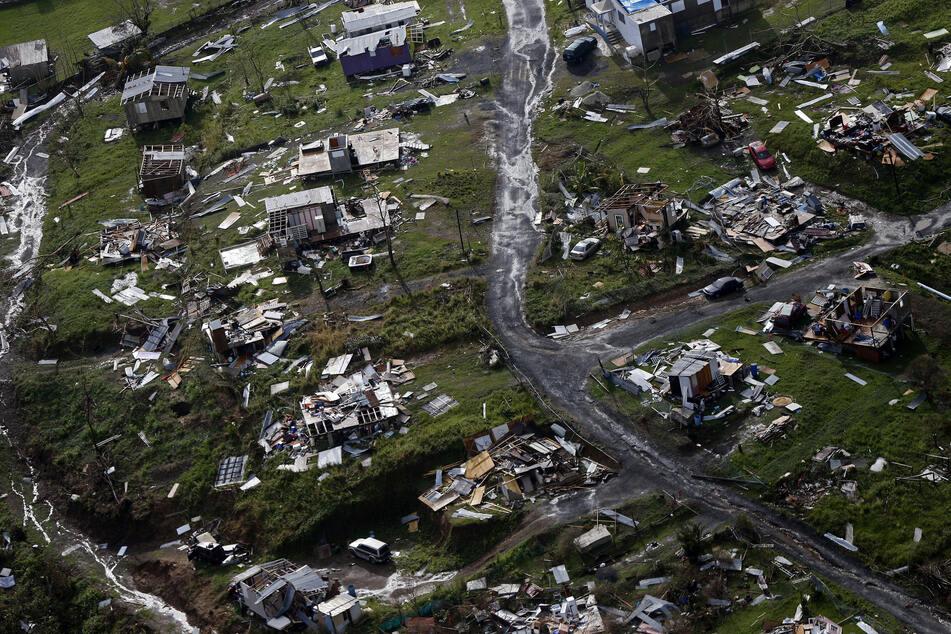 Hurrikan Maria sorgte 2017 auf Puerto Rico für furchtbare Zustände.