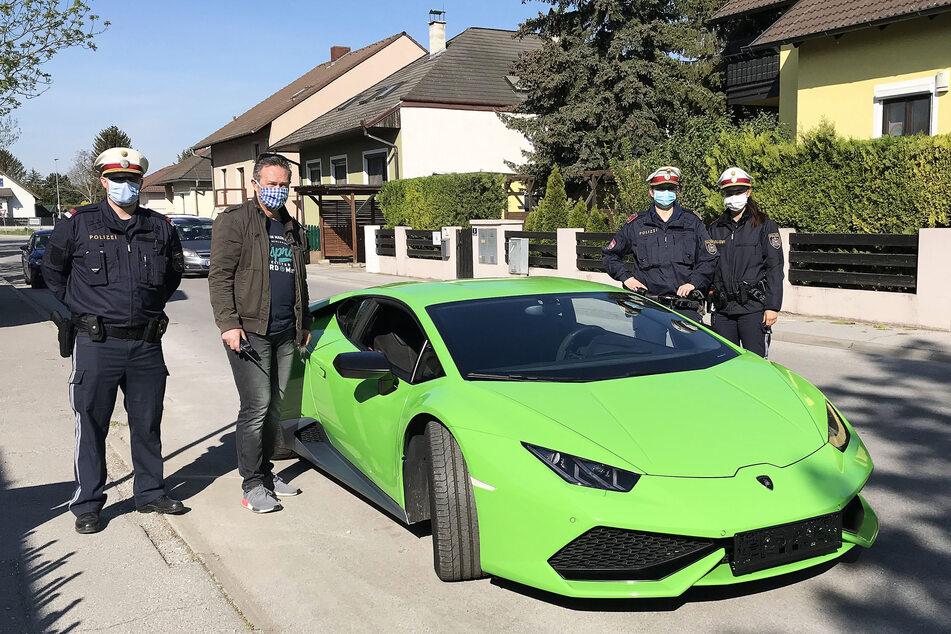 In Deutschland gestohlener Lamborghini in Österreich aufgetaucht, doch etwas an dem Sportwagen ist anders