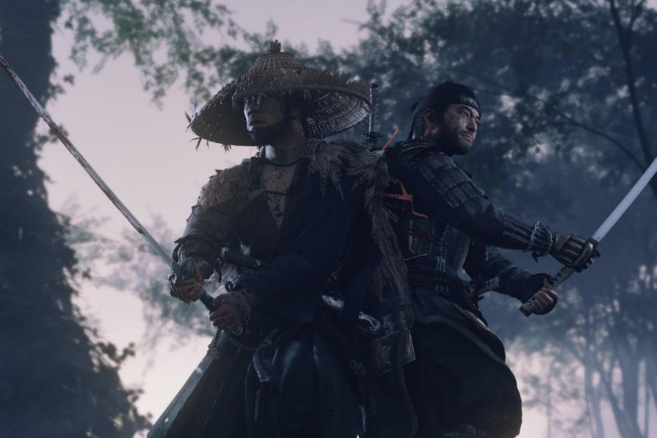 """In """"Ghost of Tsushima"""" sollt Ihr als junger Samurai Jin Sakai (r.) Eure Heimat, die Insel Tsushima, von den Mongolen befreien. Dabei werdet Ihr nicht nur mit einer feindlichen Übermacht, sondern auch den Folgen Eures Handelns konfrontiert."""