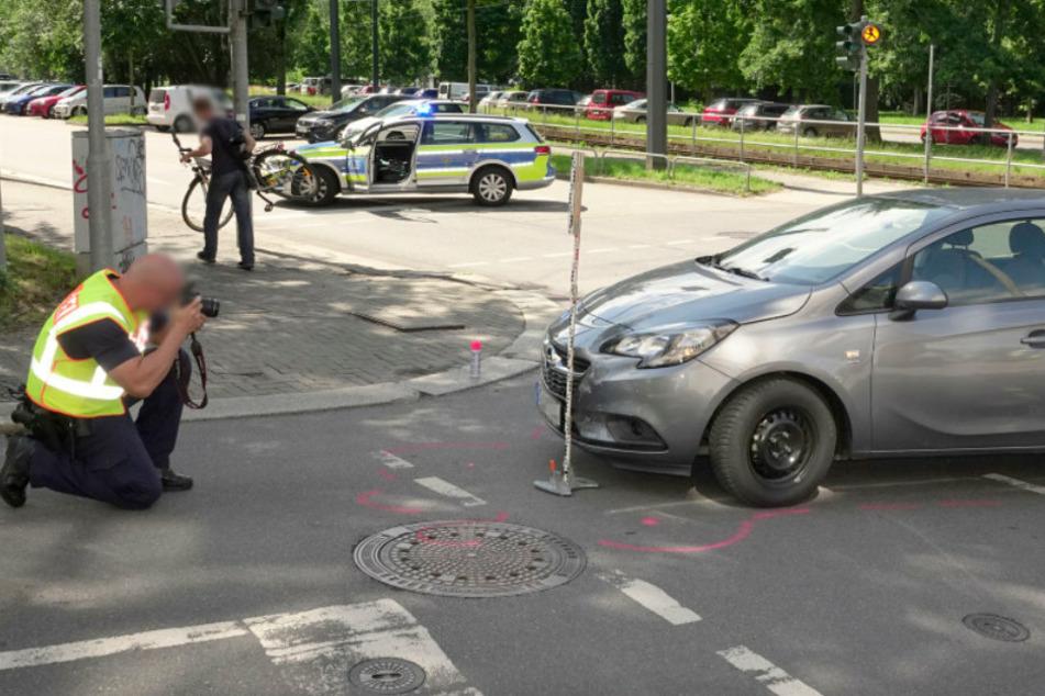Unfälle in Chemnitz: Drei Kinder verletzt