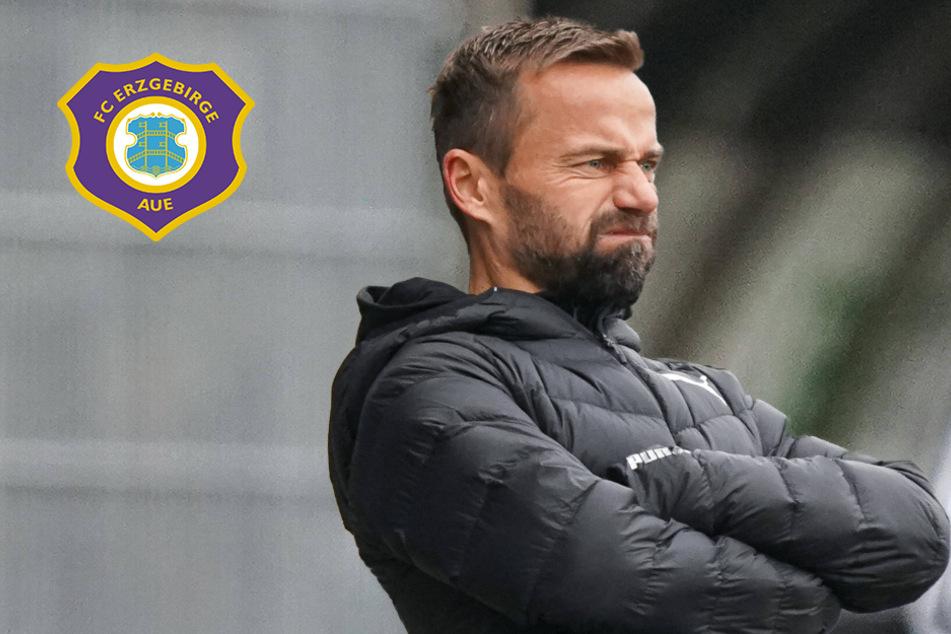 FC Erzgebirge Aue wird zum Albtraum für Sandhausen-Trainer Schiele