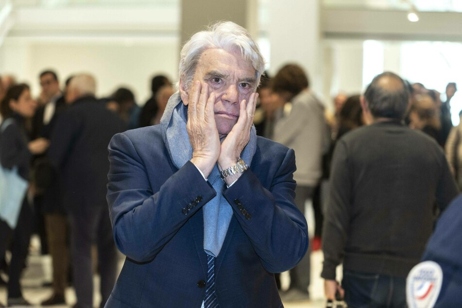 Bernard Tapie and his wife were the victims of a violent break-in at their home outside Paris.