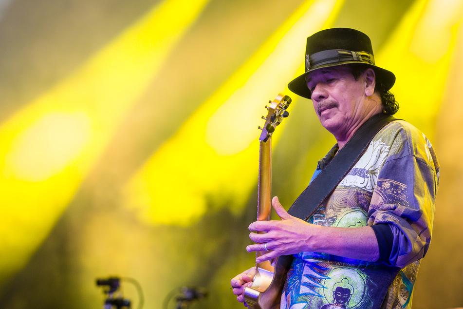 Gitarrist Carlos Santana.