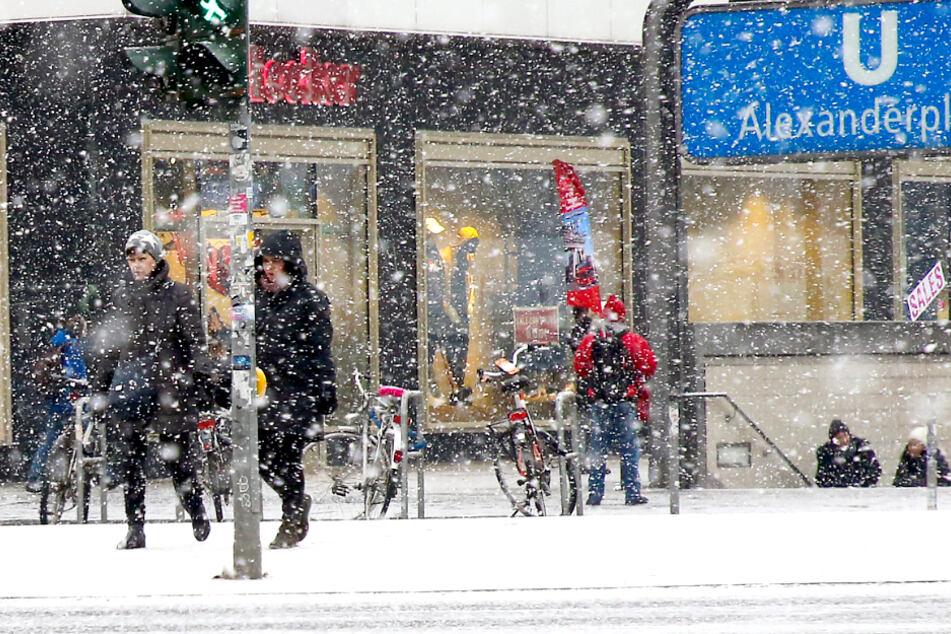 Kälte und Schnee! Berliner und Brandenburger müssen sich warm anziehen