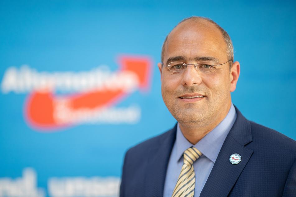 Peter Boehringer (52, AfD) soll Wähler überzeugen.