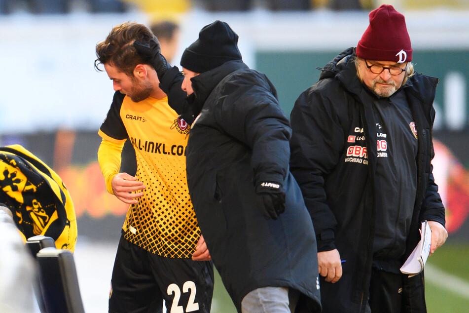 """""""Er hat ein geiles Spiel gemacht!"""" Von Trainer Markus Kauczinski (50, M.) gab's ein Extralob für Niklas Kreuzer (27)."""