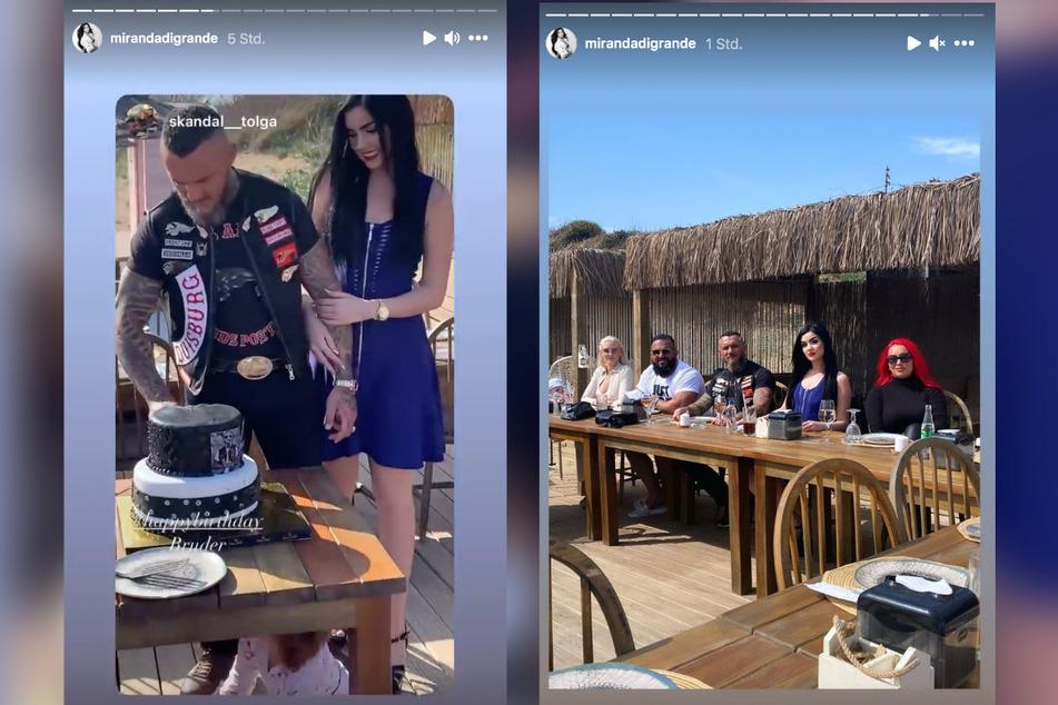 Nathalie Volk (24) feiert den Geburtstag von Lover Timur A. (43) in der Türkei.