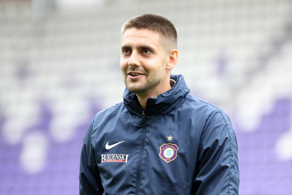 Aue-Kicker Dimitrij Nazarov (31) verwandelte in der vergangenen Saison zwei Elfmeter.