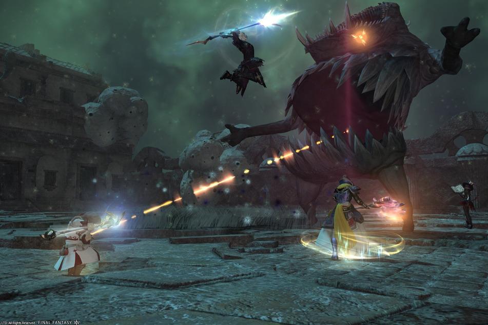 """Final Fantasy XIV"" bietet Euch WoW-Feeling im Japan-Style."