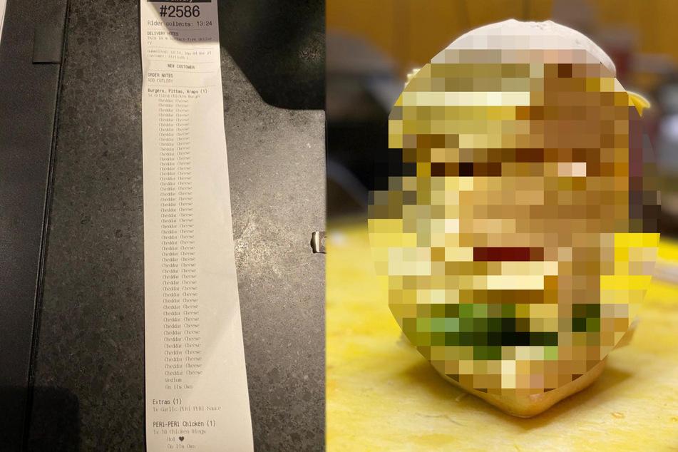 Kunde gibt bei Burger-Bestellung kuriosen Wunsch an: Das ist das Ergebnis