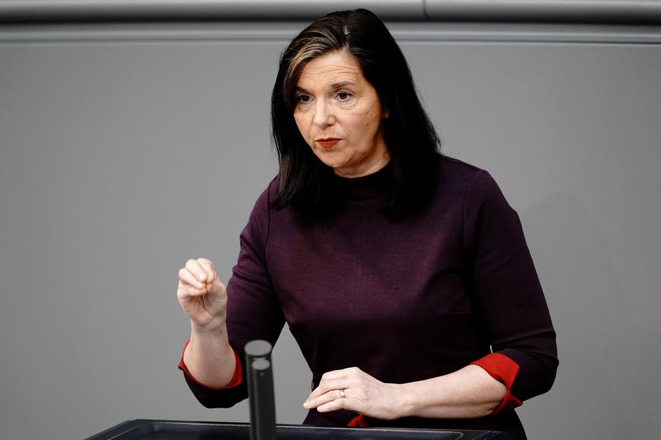Katrin Göring-Eckardt (55), Fraktionsvorsitzende von Bündnis 90/Die Grünen.