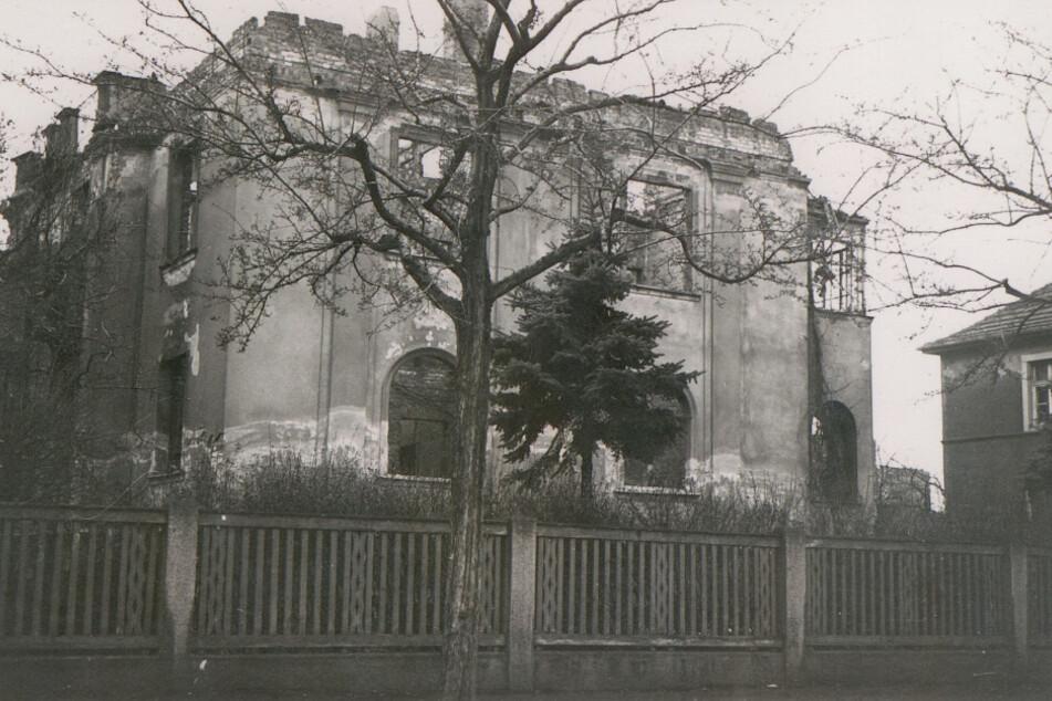Hier wohnt Hans-Dieter Grabe mit seinen Eltern bis zum Luftangriff. Das Haus in der Dresdner Südvorstadt wird im Krieg zerbombt.