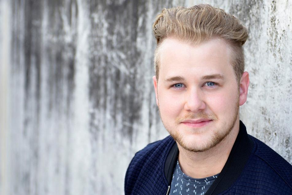 Felix van Deventer (25) spielt bei GZSZ die Rolle des Jonas Seefeld.