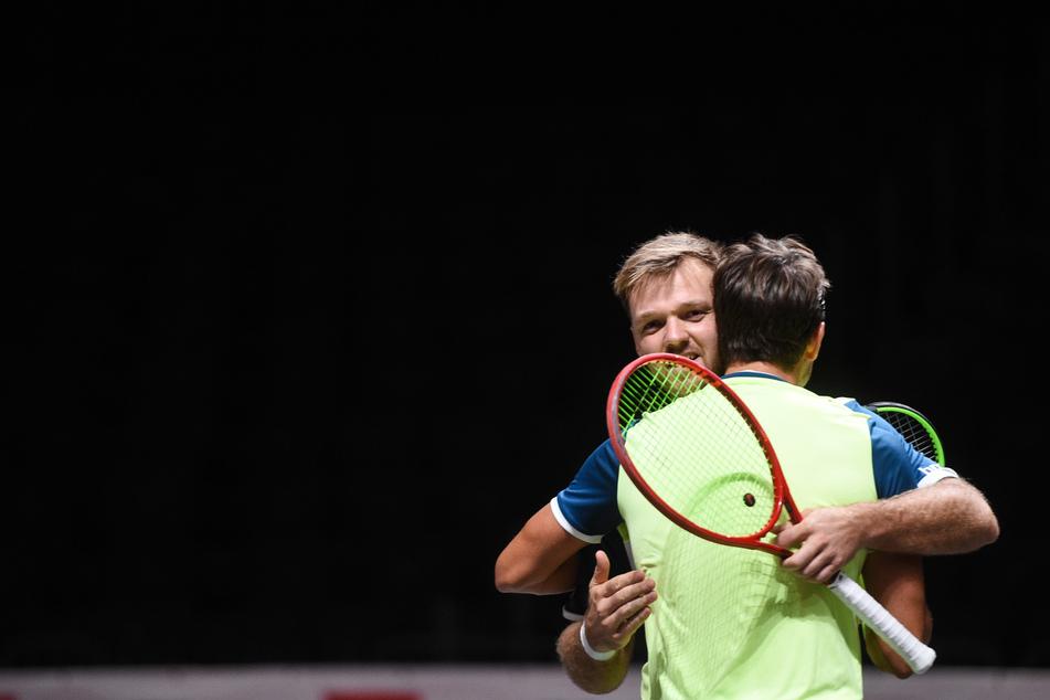 Tennis-Doppel Köln: Mies und Krawietz im Finale