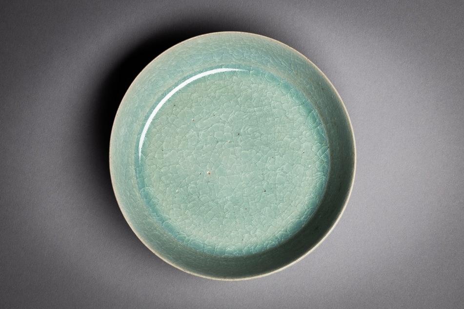 Diese seltene Schale wurde in der Dresdner Porzellansammlung entdeckt.