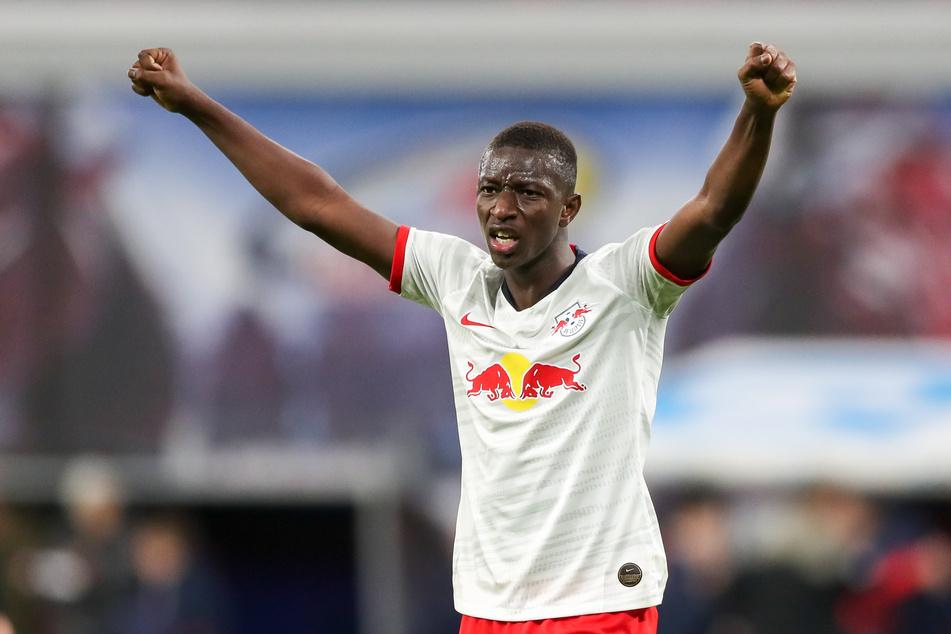 Sportlich läuft es in letzter Zeit für den Mann aus Mali Haidara (22) bei RB Leipzig wieder.