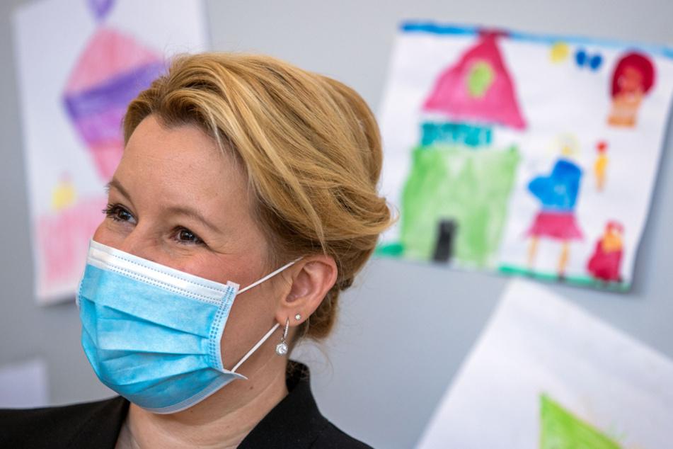 Bundesfamilienministerin Franziska Giffey (42, SPD) warnte vor Stress in den Familien. (Archiv)