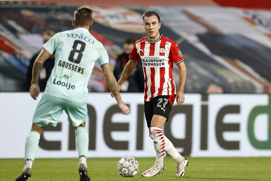 Auch gegen ADO Den Haag stand Mario Götze (28) wieder in der Startformation von PSV.